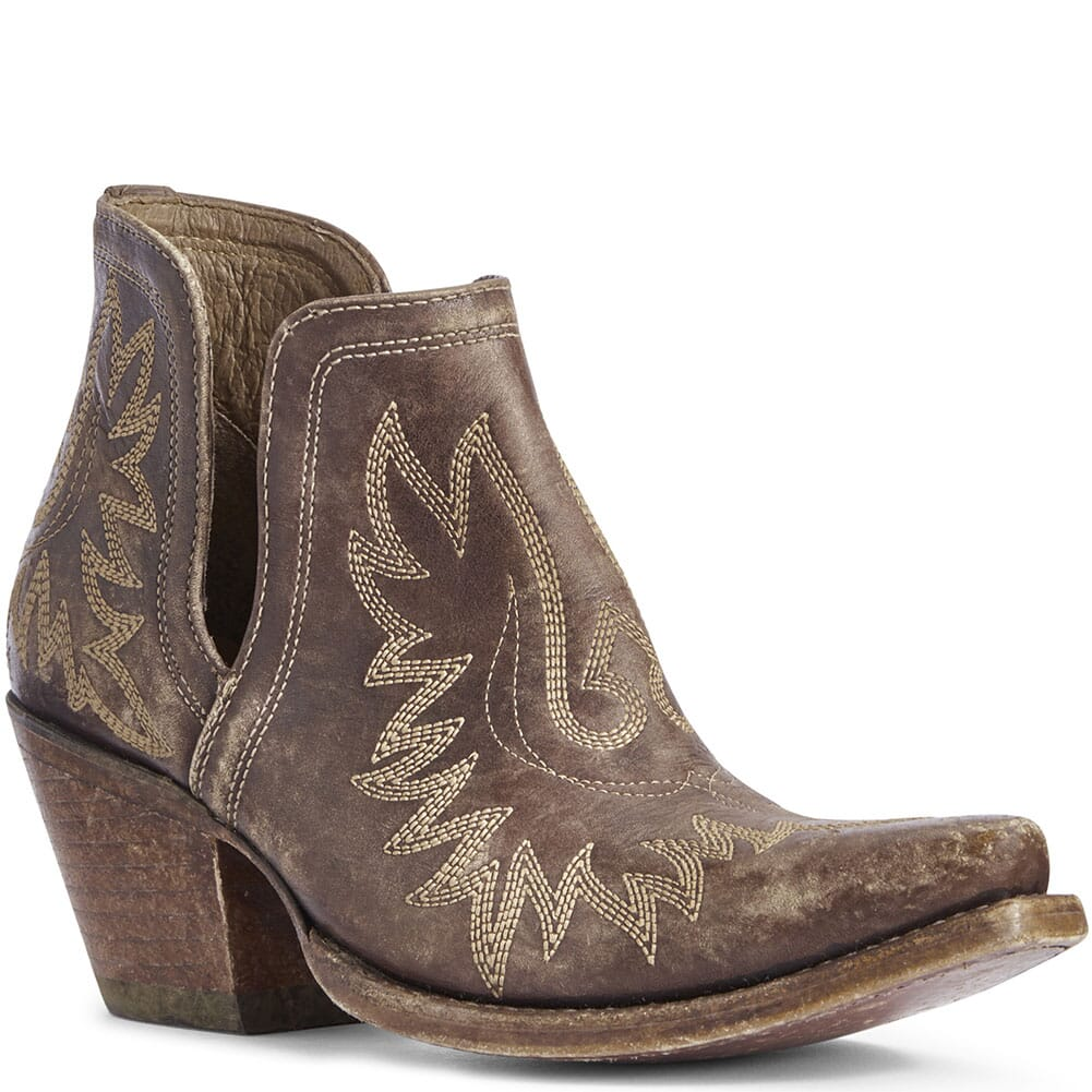 Image for Ariat Women's Dixon Western Boots - Naturally Distressed Brown from elliottsboots