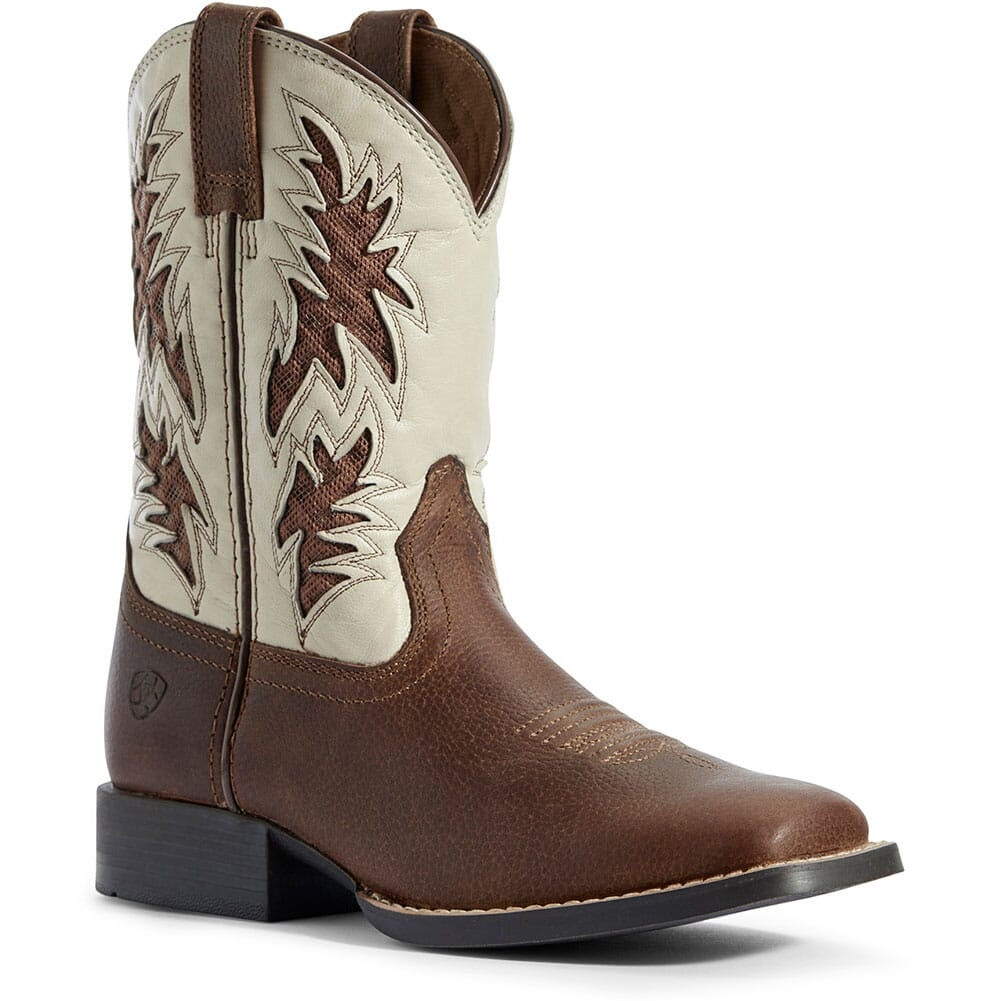 Image for Ariat Kid's Cowboy VentTEK Western Boots - Cognac Candy from bootbay
