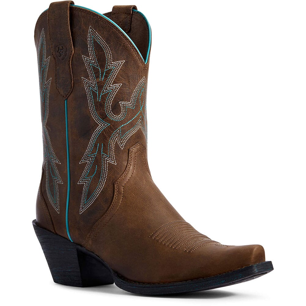 Image for Ariat Women's Round Up Bella Western Boots - Barnwood from elliottsboots