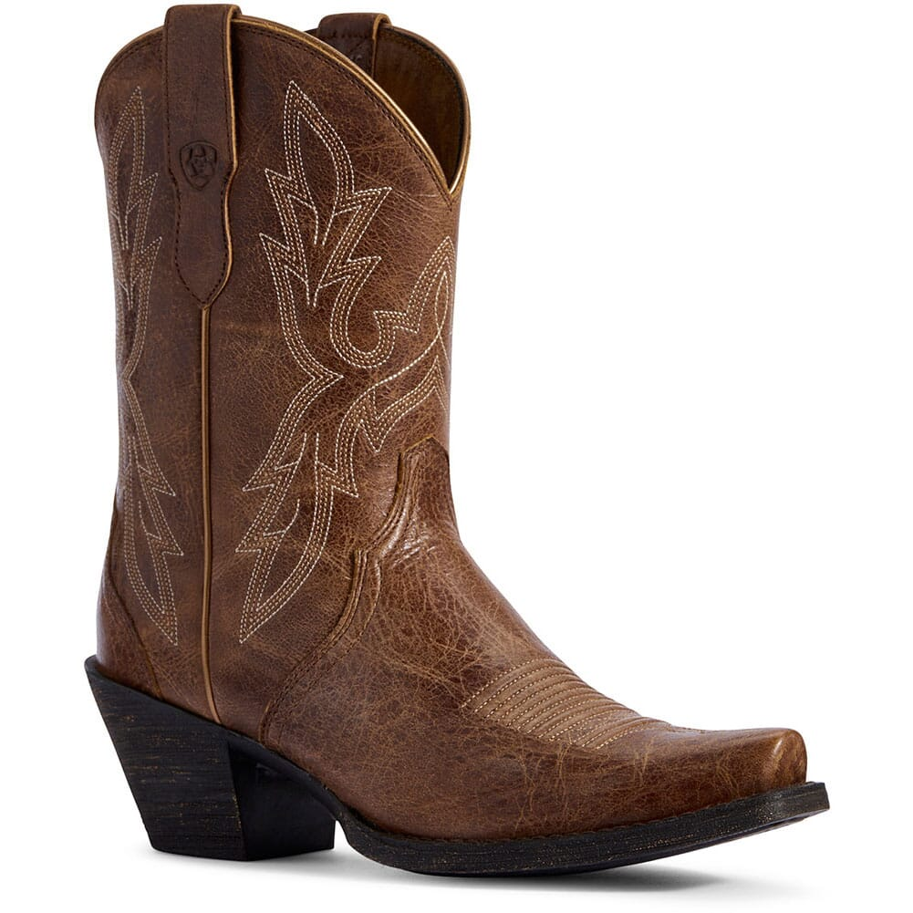 Image for Ariat Women's Round Up Bella Western Boots - Dark Tan from bootbay
