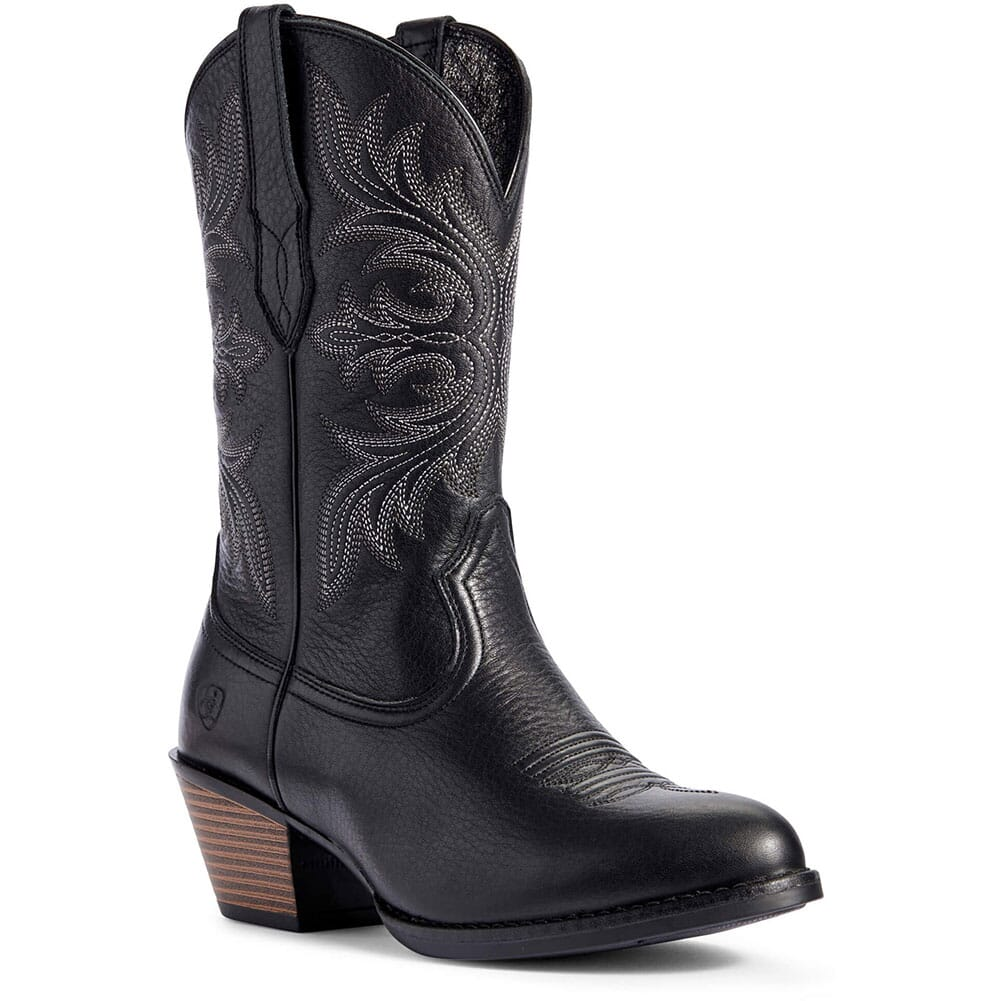 Image for Ariat Women's Runaway Western Boots - Black from elliottsboots