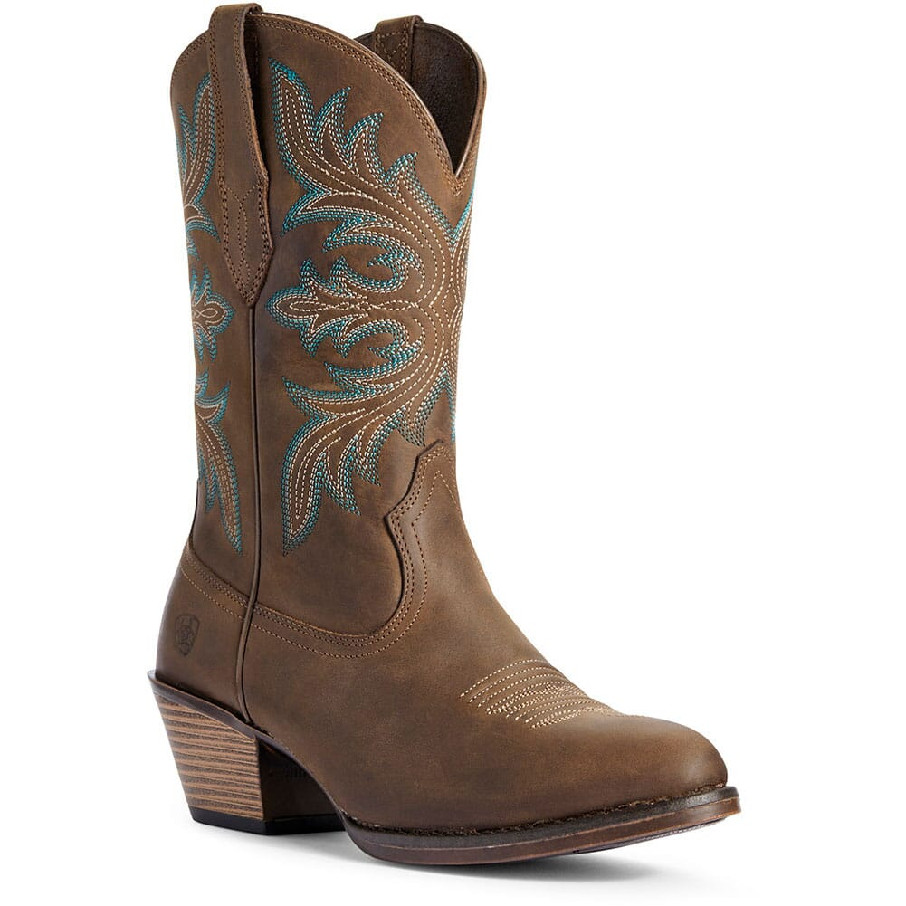 Image for Ariat Women's Runaway Western Boots - Distressed Brown from bootbay