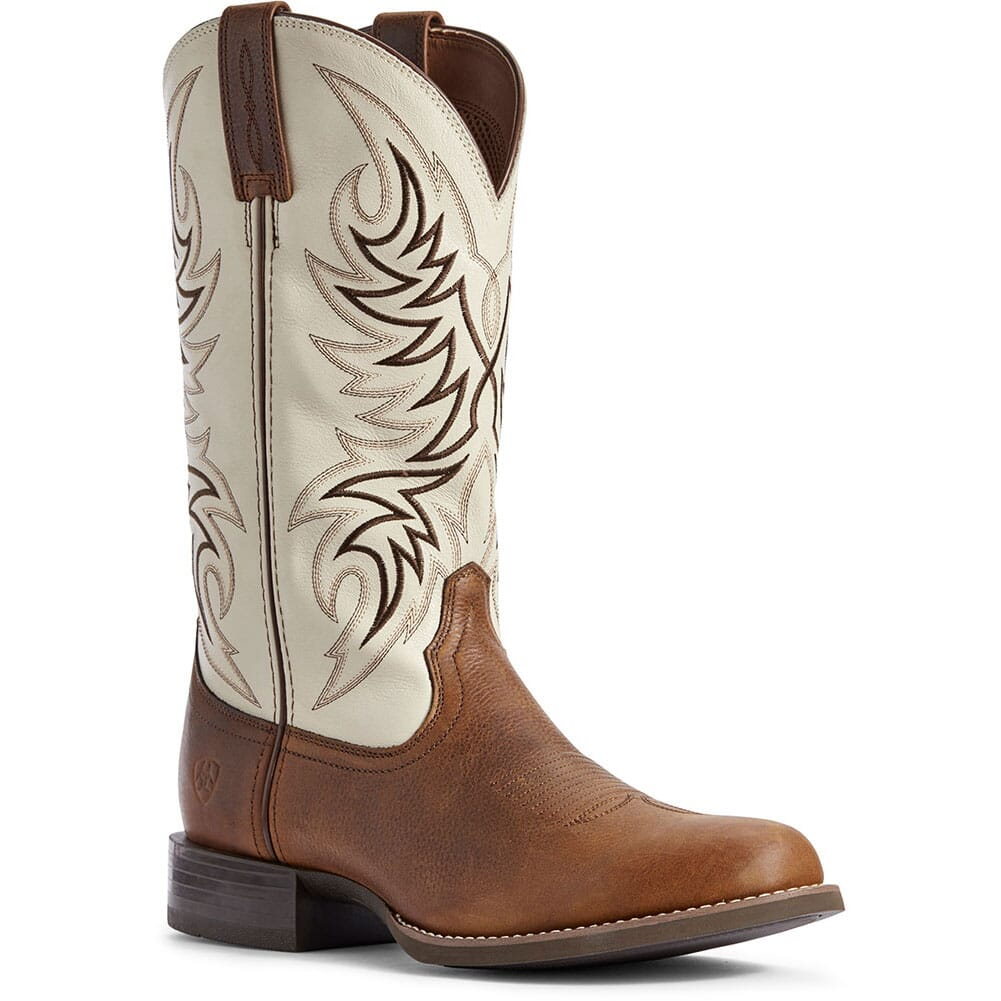 Image for Ariat Men's Sport Horseman Western Boots - Cattail Brown from bootbay