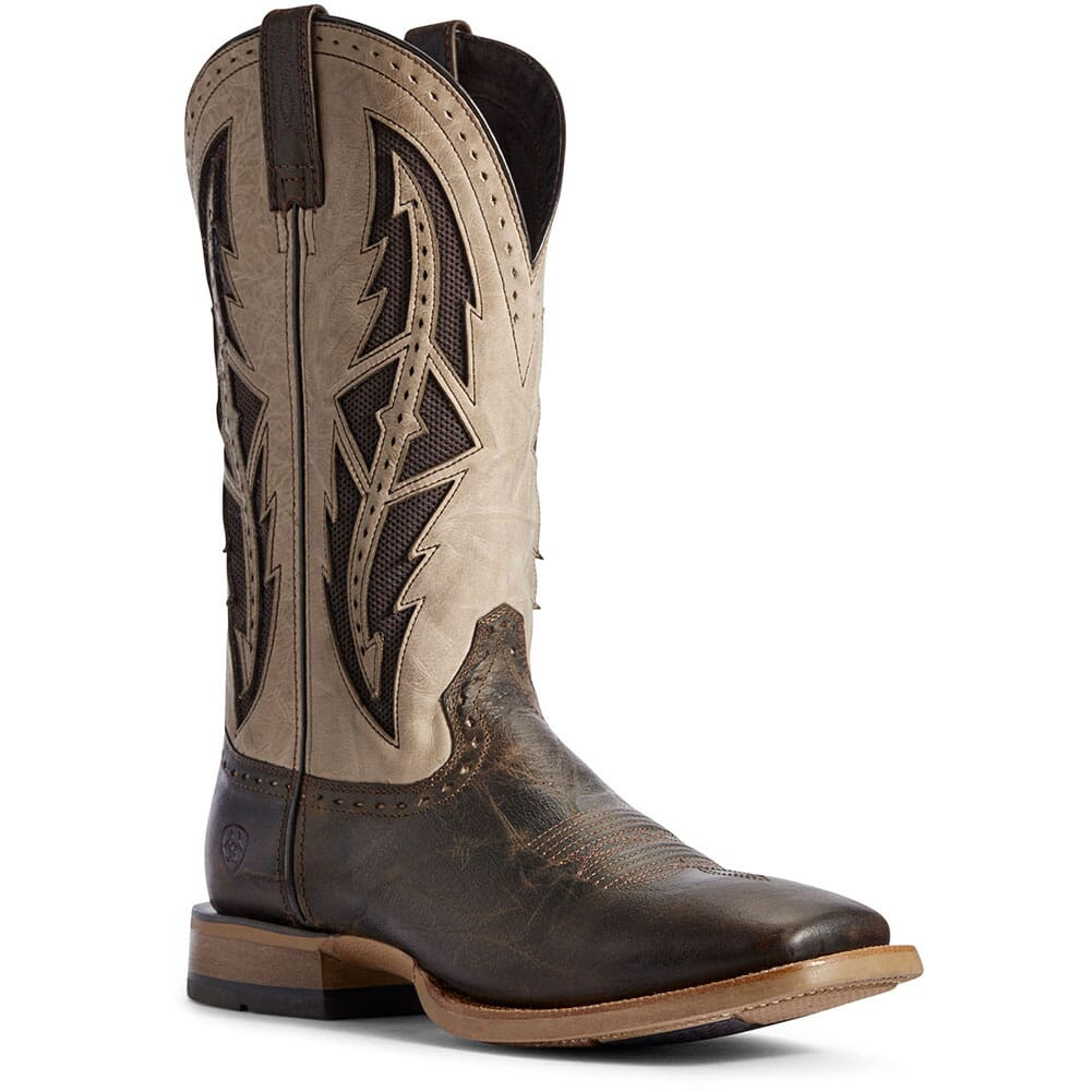 Image for Ariat Men's Cowhand VentTEK Western Boots - Stout Brown from bootbay