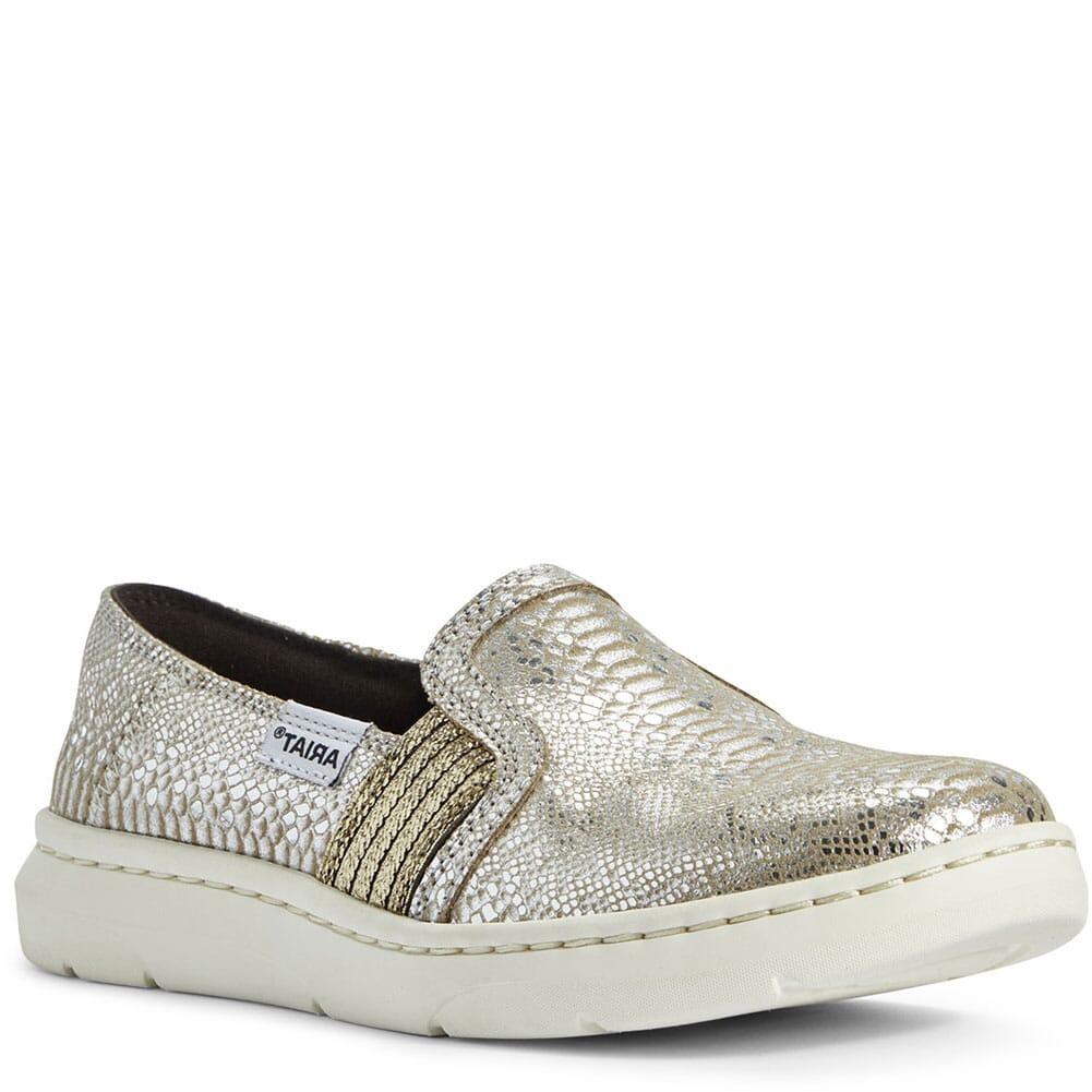 Image for Ariat Women's Ryder Casual Shoes - Silver Snake Print from bootbay