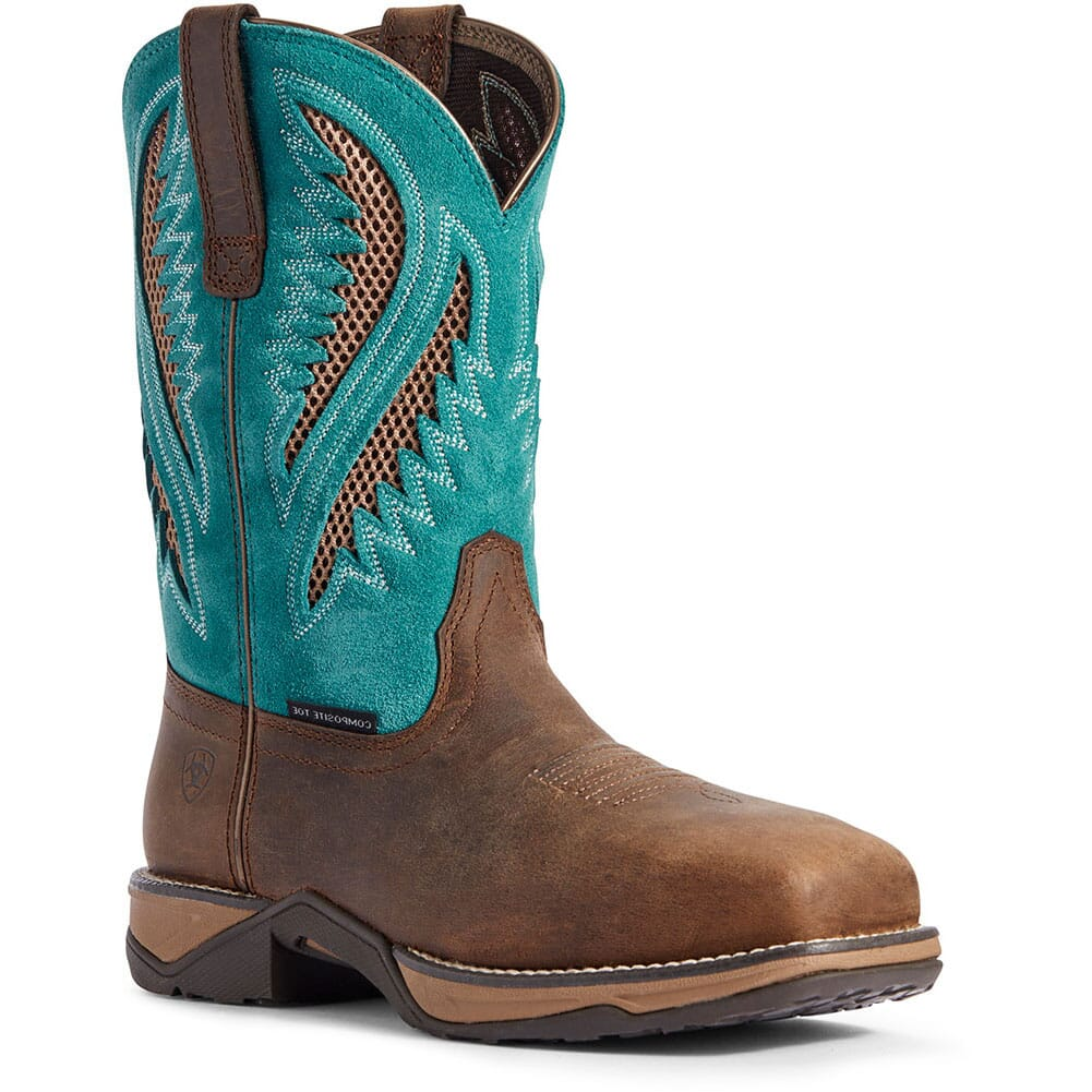 Image for Ariat Women's Anthem VentTEK Safety Boots - Royal Chocolate from elliottsboots