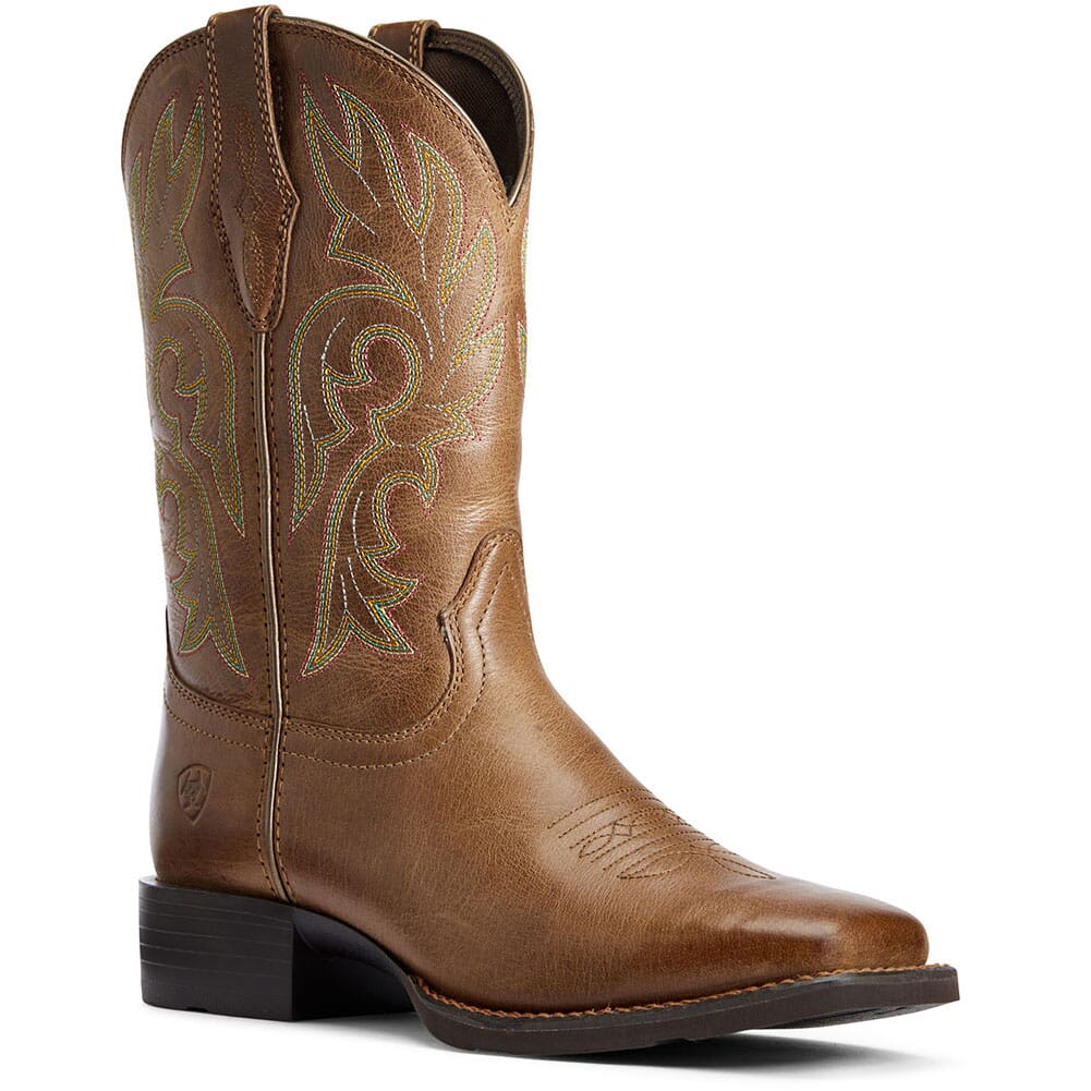 Image for Ariat Women's Cattle Drive Western Boots - Dusty Brown from bootbay