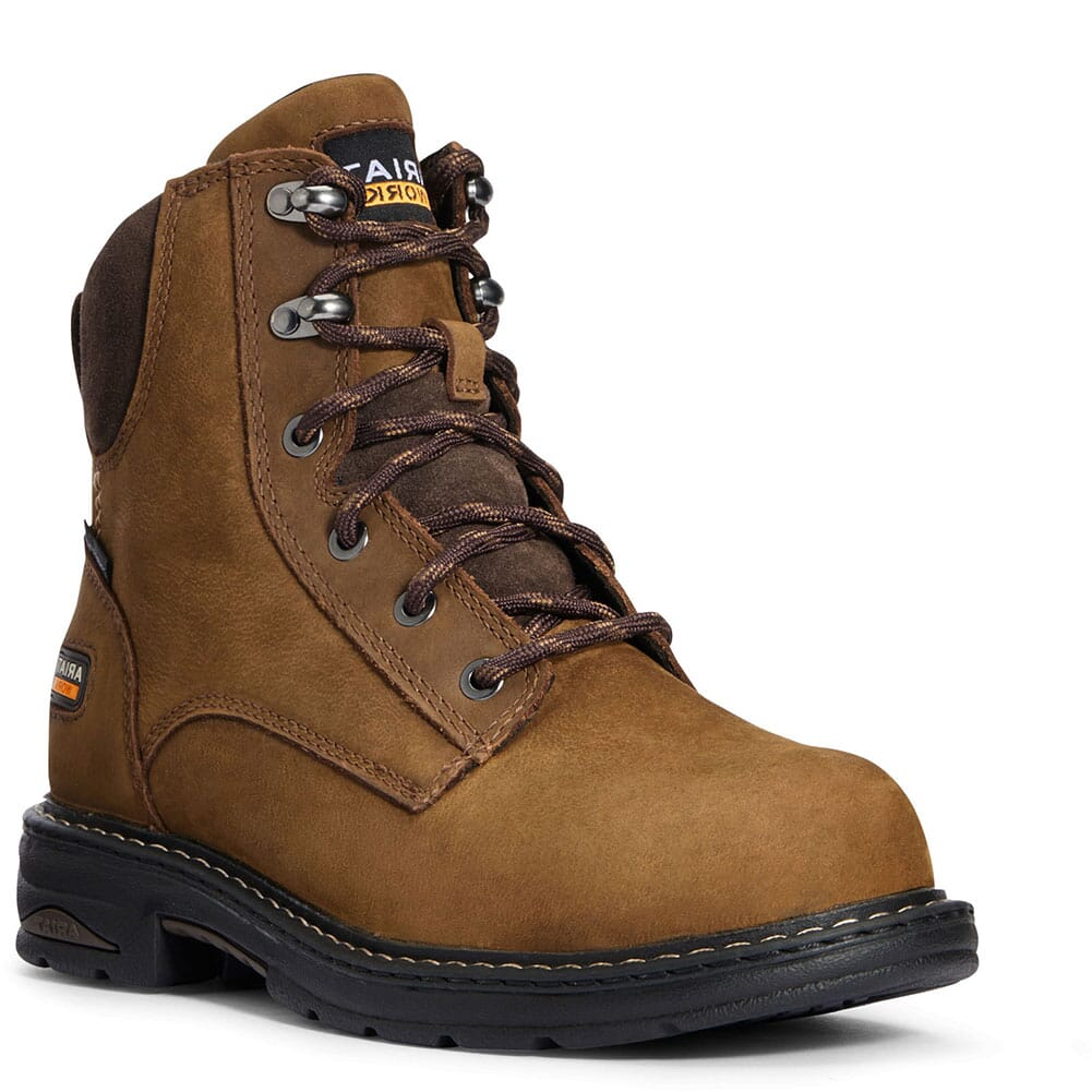 Image for Ariat Women's Casey Comp Toe Safety Boots - Dark Brown from bootbay