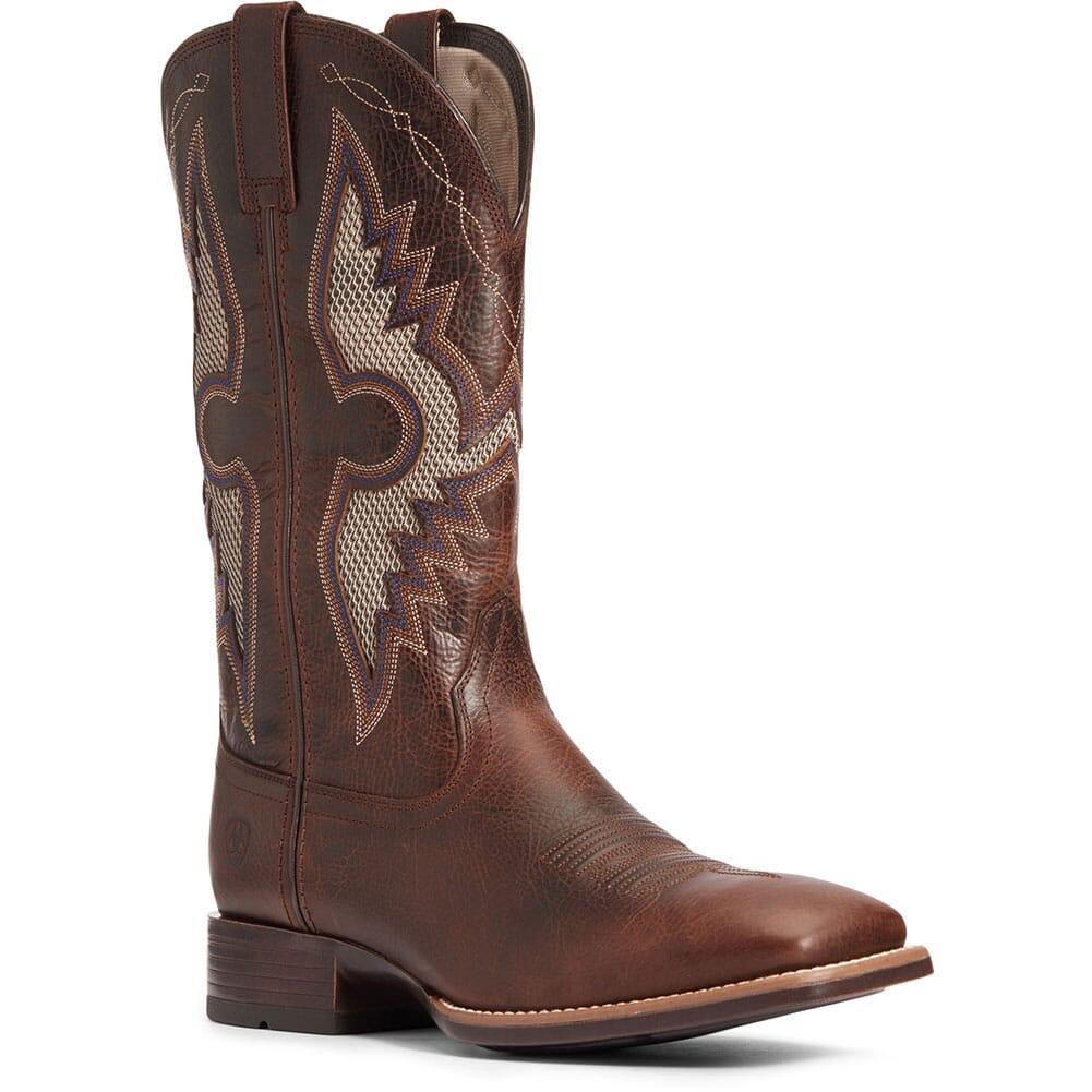 Image for Ariat Men's Solado VentTEK Western Boots - Dark Whiskey from elliottsboots