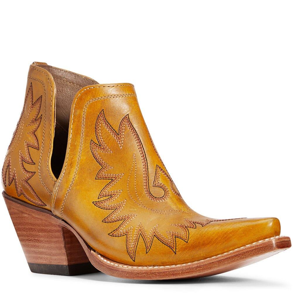 10034042 Ariat Women's Dixon Western Boots - Mustard