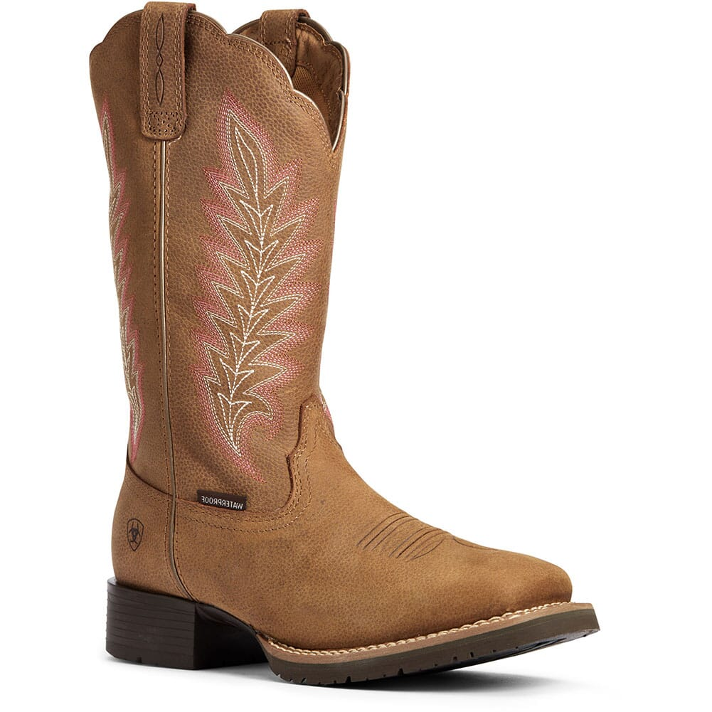 Image for Ariat Women's Hybrid Rancher Western Boots - Pebbled Tan from elliottsboots