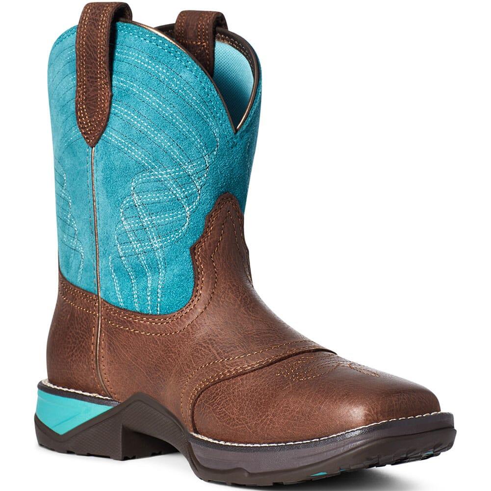 Image for Ariat Women's Anthem Shortie Western Boots - Dark Barley from elliottsboots