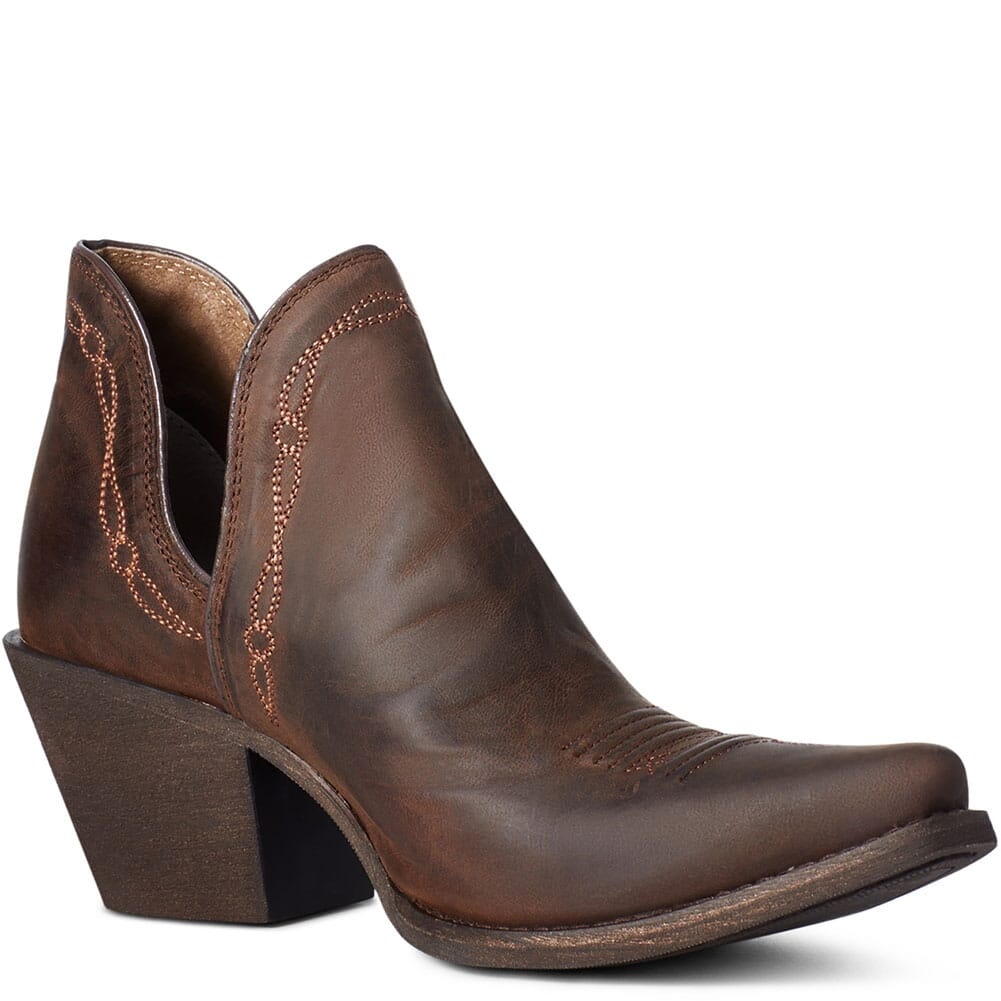 Image for Ariat Women's Encore Western Boots - Weathered Brown from elliottsboots