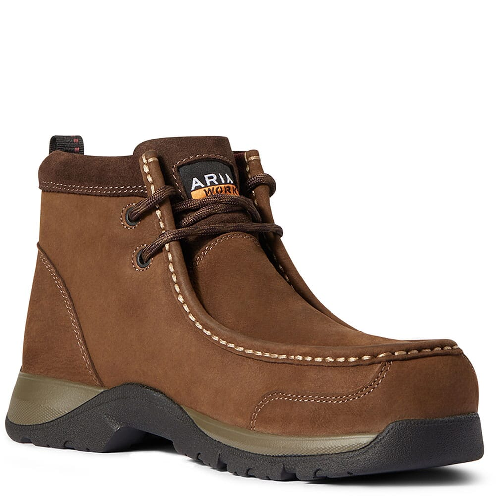 Image for Ariat Women's Edge LTE Moc Safety Boots - Dark Brown from bootbay