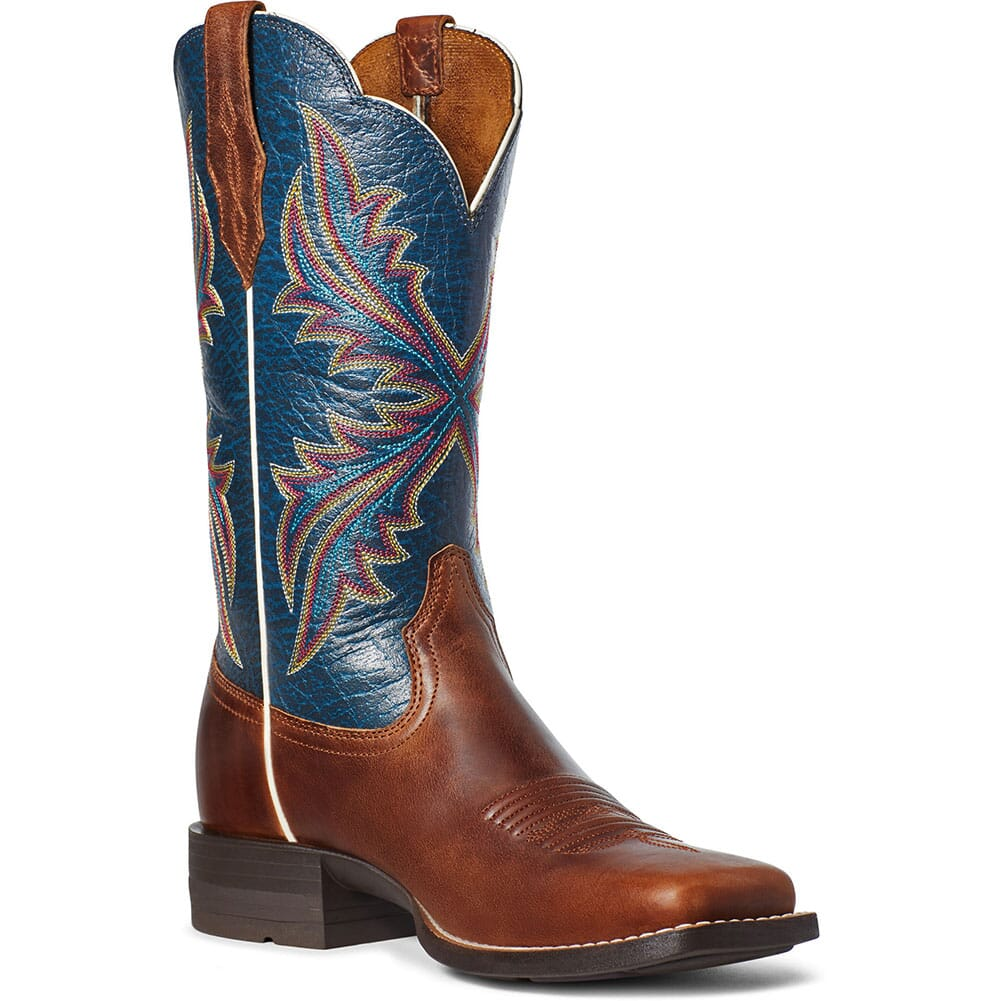 Image for Ariat Women's West Bound Western Boots - Russet Rebel from elliottsboots