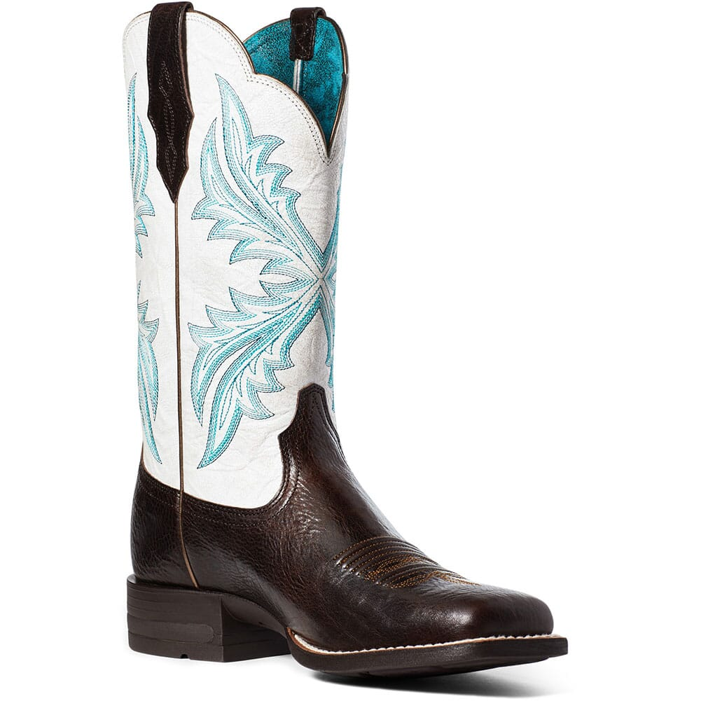 Image for Ariat Women's West Bound Western Boots - Chocolate Chip from elliottsboots