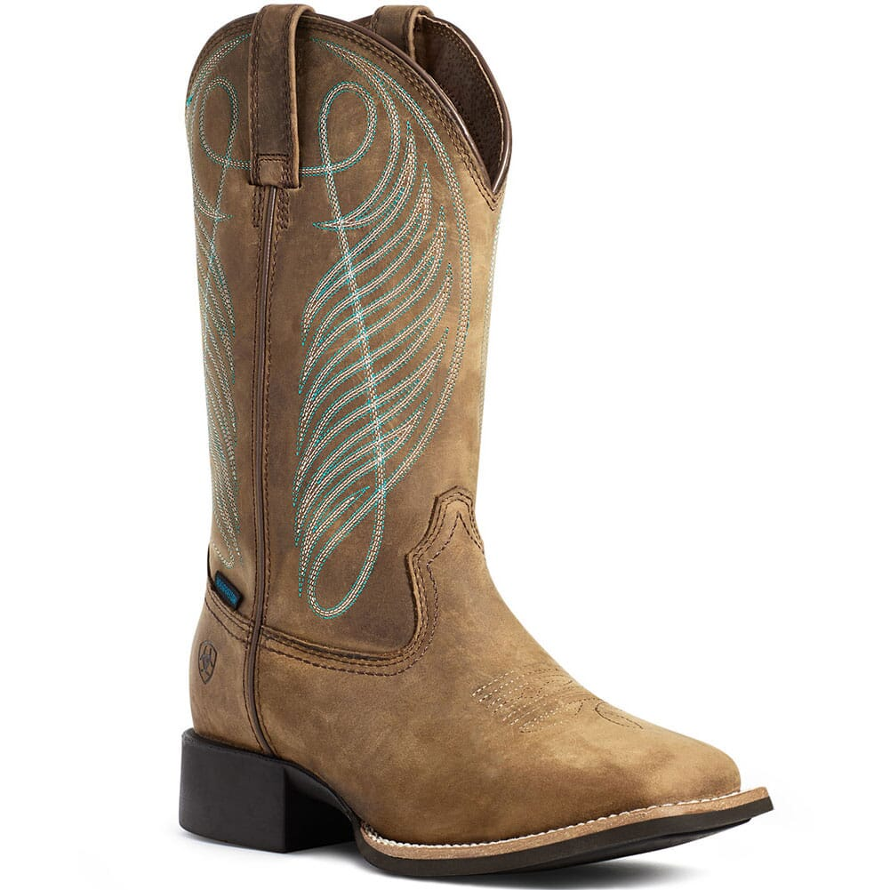 Image for Ariat Women's Round Up WP Western Boots - Brown from bootbay
