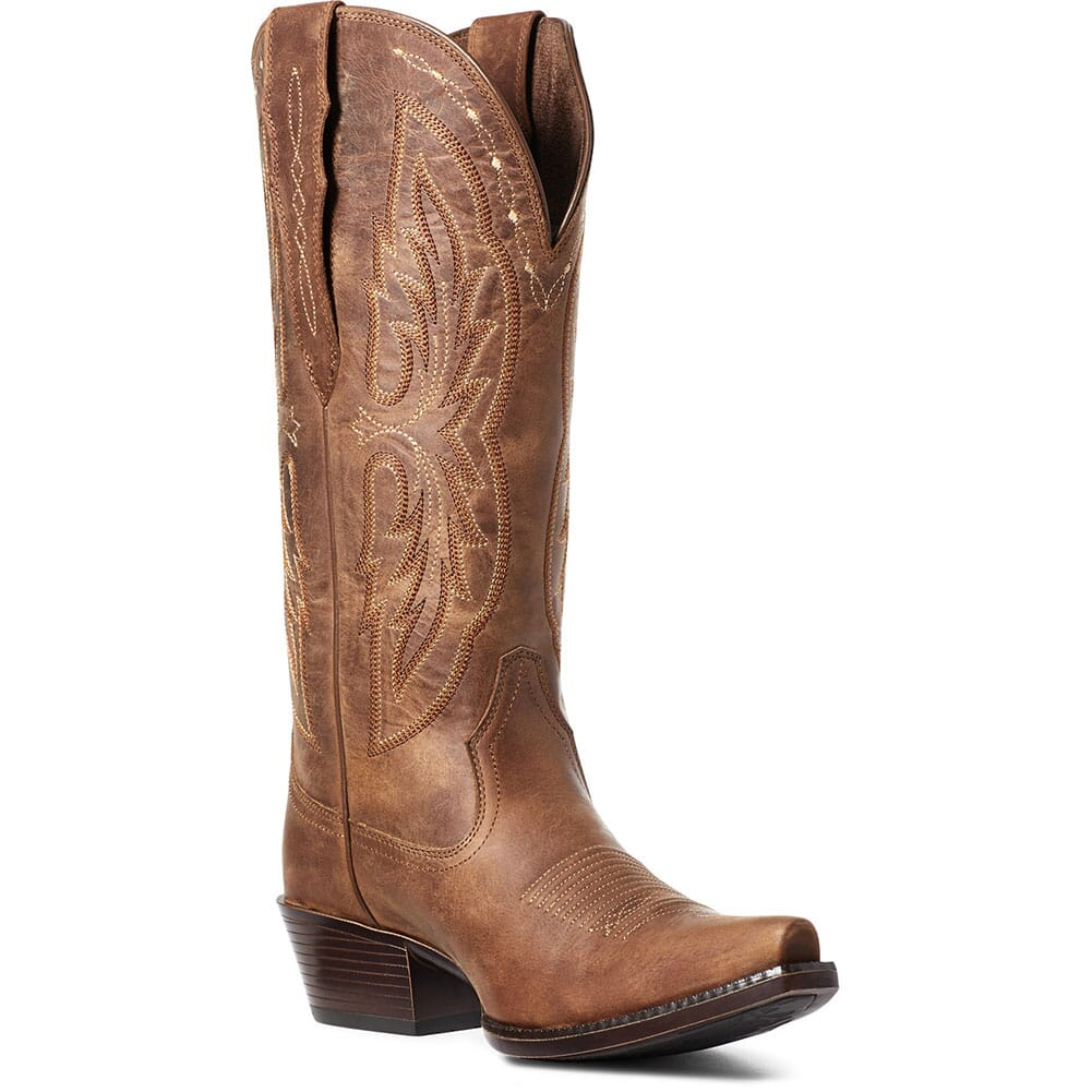 Image for Ariat Women's Heritage Elastic Calf Western Boots - Chocolate Chip from elliottsboots