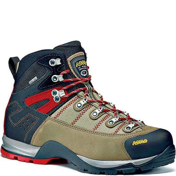 Image for Asolo Men's Fugitive GTX Wide Hiking Boots - Wool/Black from bootbay