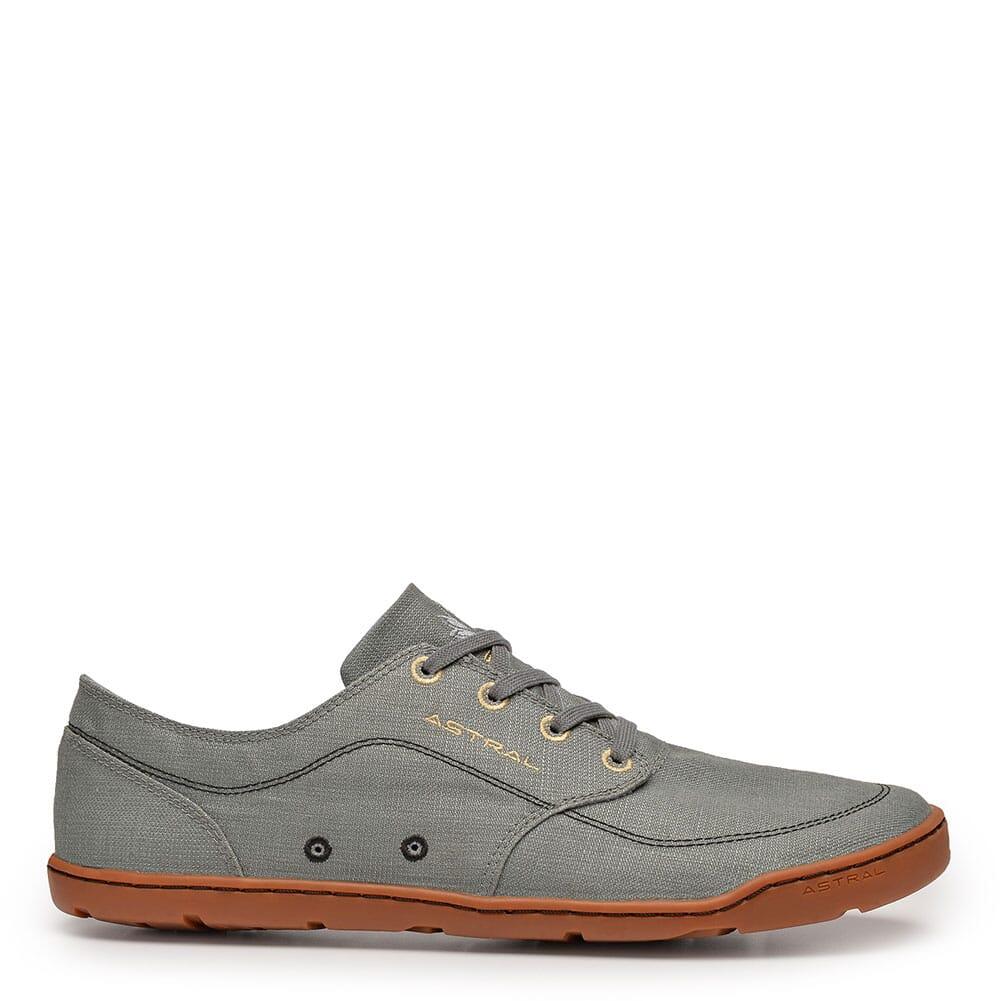 Image for Astral Men Hemp Loyak Casual Shoes - Granite Gray from bootbay