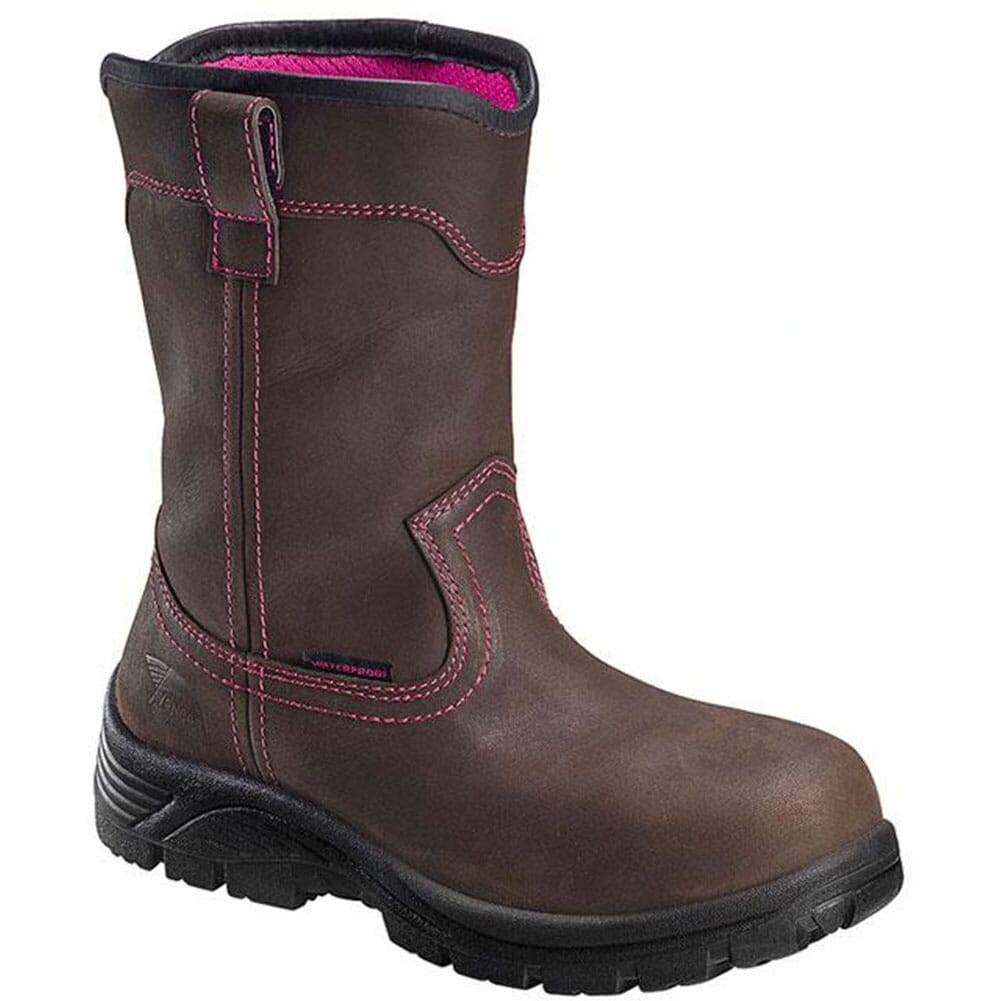 Image for Avenger Women's WP EH Comp Toe Safety Boots - Brown from elliottsboots