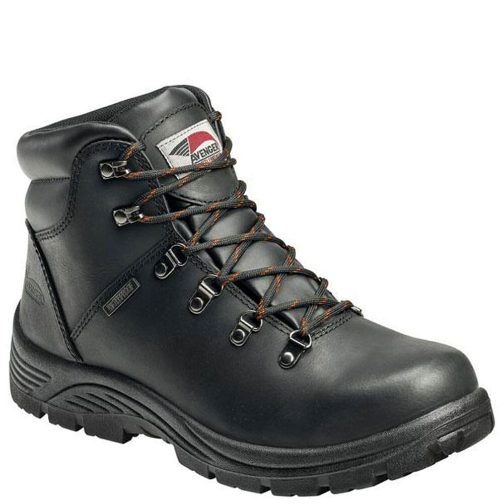 Image for Avenger Men's EH Waterproof Safety Boots - Black from bootbay