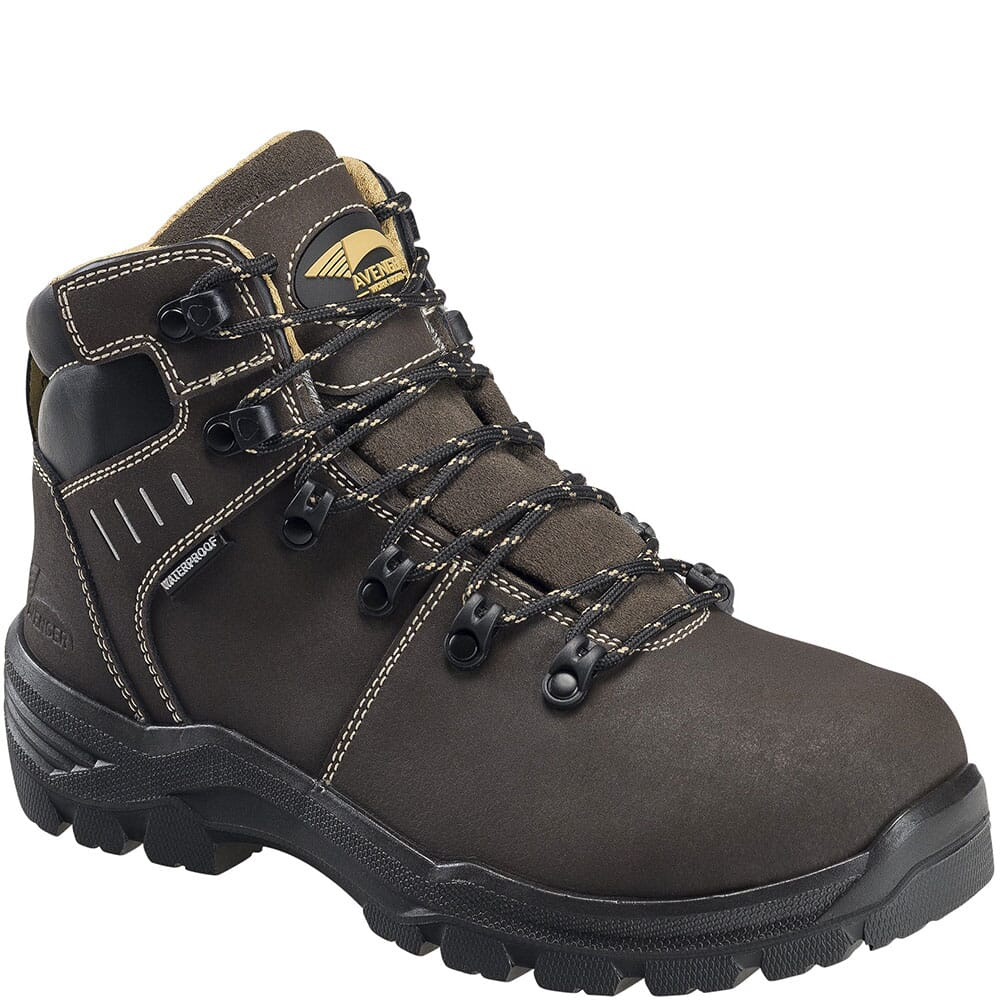 Image for Avenger Women's Foundation Met Guard Safety Boots - Brown from bootbay