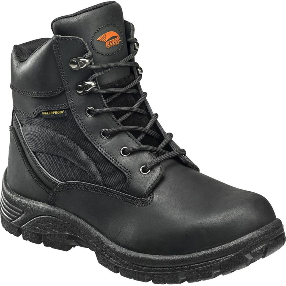 Image for Avenger Men's Cordura EH SR Work Boots - Black from bootbay