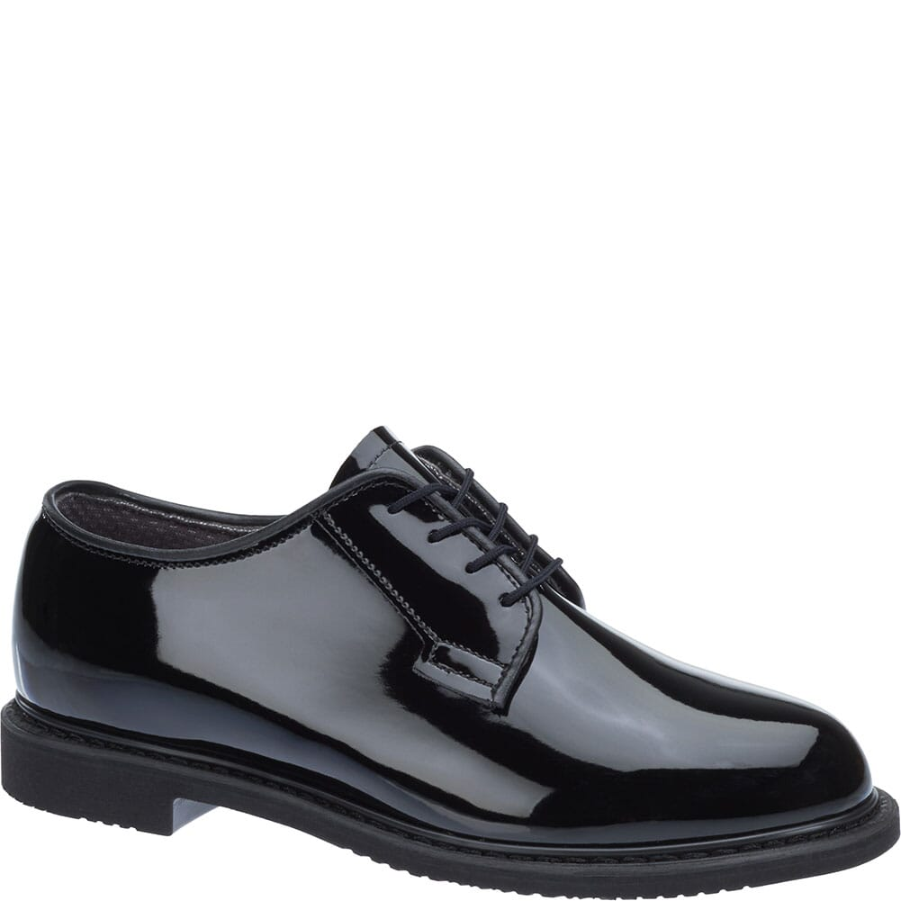 Image for Bates Women's Lites High Gloss Uniform Oxfords - Black from elliottsboots