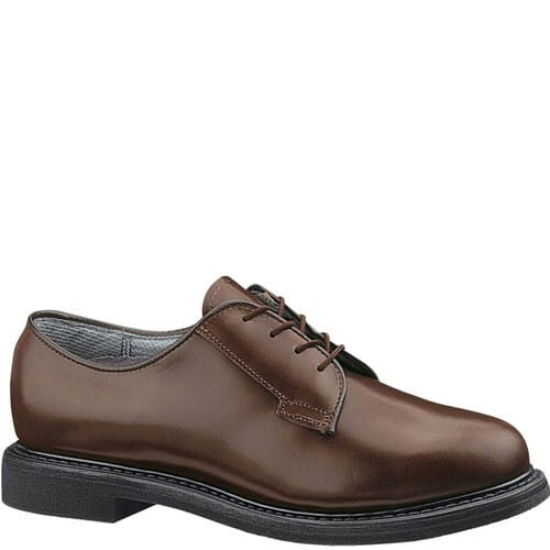 Image for Bates Women's Lites Leather USA Uniform Oxfords - Brown from bootbay