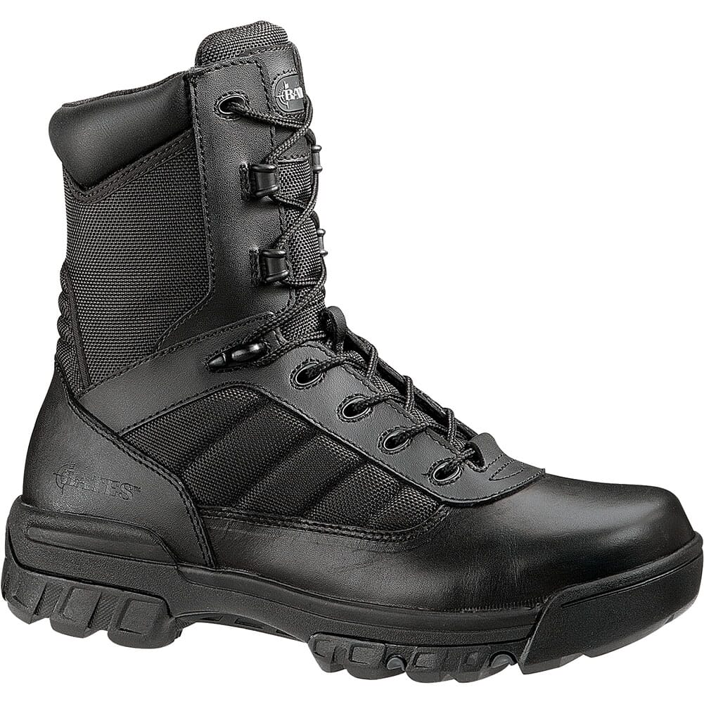 Image for Bates Men's Ultra-Lites 8 IN Zip Safety Boots - Black from bootbay