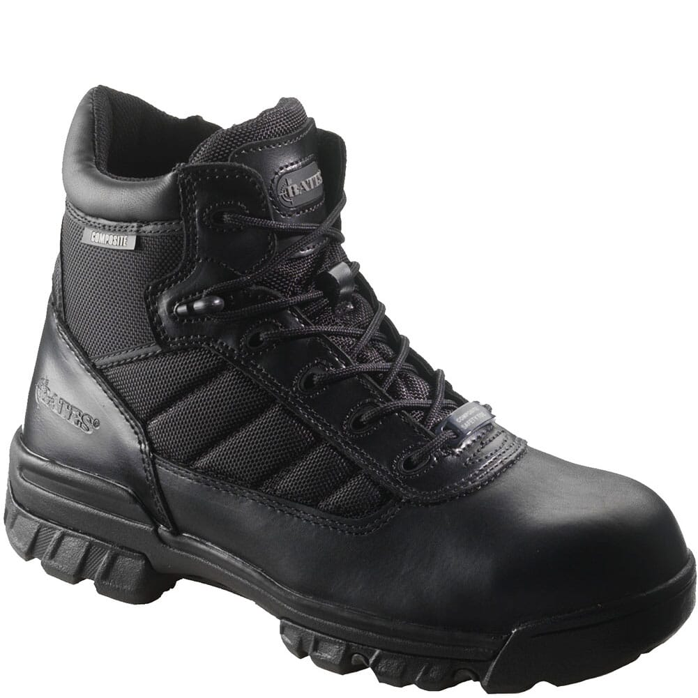 Image for Bates Men's Ultra-Lites 5IN Zip Safety Boots - Black from bootbay