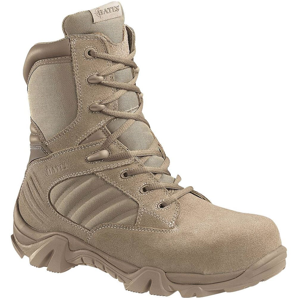Image for Bates Men's GX-8 Uniform Safety Boots - Desert Tan from bootbay