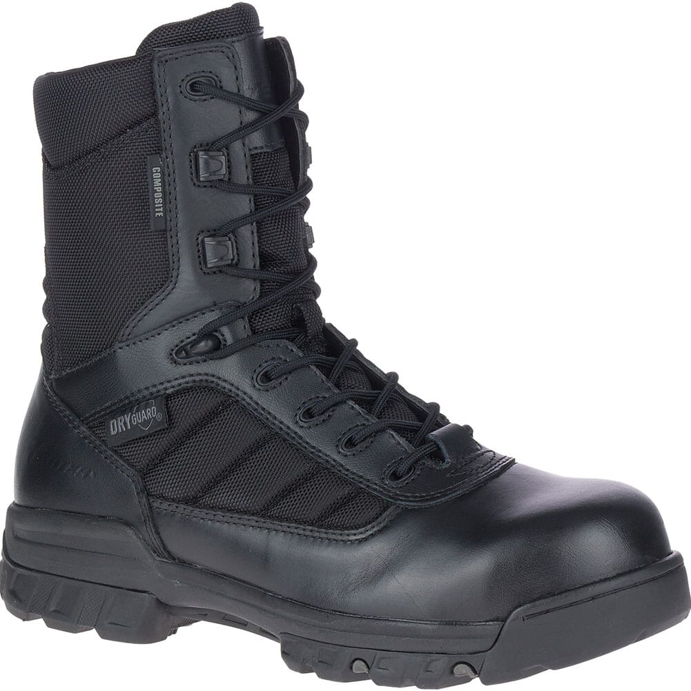 Image for Bates Men's Tactical Sport Dryguard Side Zip Safety Boots - Black from bootbay
