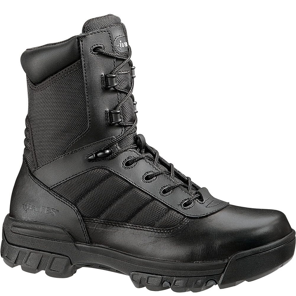 Image for Bates Women's Enforcer Side Zip Uniform Boots - Black from elliottsboots