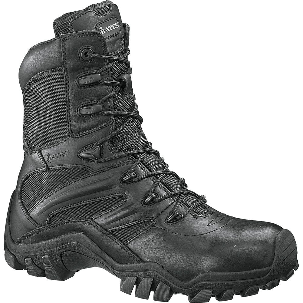 Image for Bates Women's Delta-8 Zip Uniform Boots - Black from bootbay