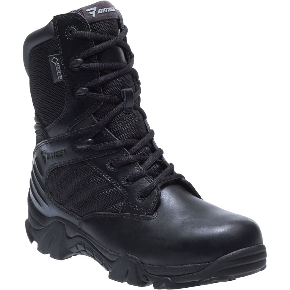 Image for Bates Women's GX-8 Insulated Side Zip Uniform Boots - Black from bootbay