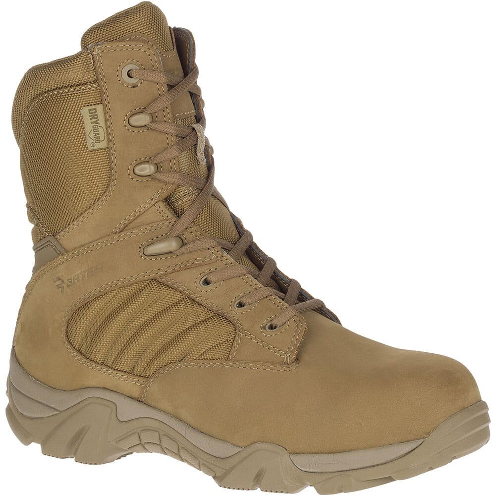 Image for Bates Men's GX-8 Waterproof Safety Boots - Coyote from bootbay