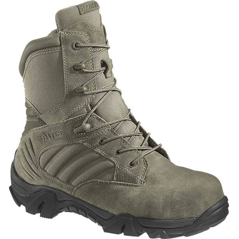 Image for Bates Men's GX-8 Side Zip Safety Boots - Sage from bootbay