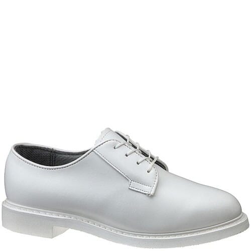Image for Bates Women's Lites Leather WHT Oxfords - White from elliottsboots