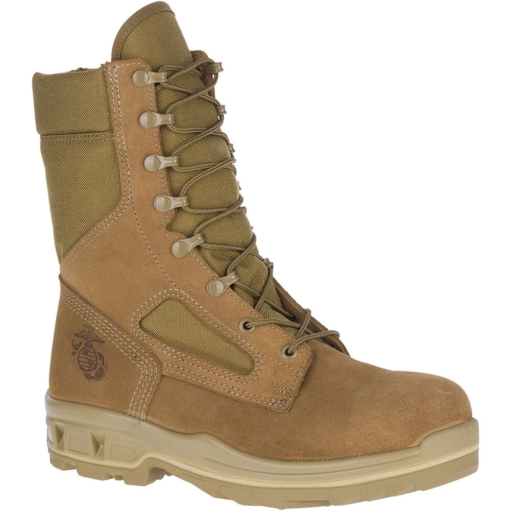 Image for Bates Men's Terrax3 USMC EH Safety Boots - Coyote from bootbay