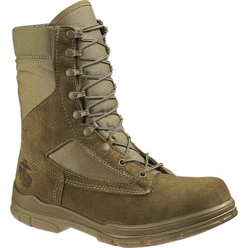 Image for Bates Women's U.S.M.C. Garrison Uniform Boots - Tan from bootbay