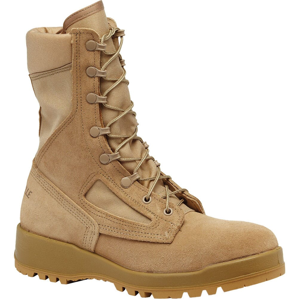 Image for DES ST Belleville Men's Hot Weather Safety Boots - Tan from bootbay