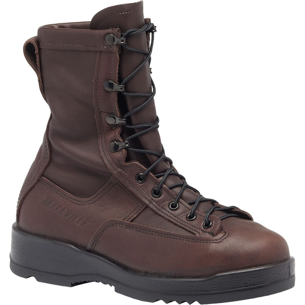 Image for Belleville Men's Wet Weather Flight Safety Boots - Chocolate Brown from bootbay
