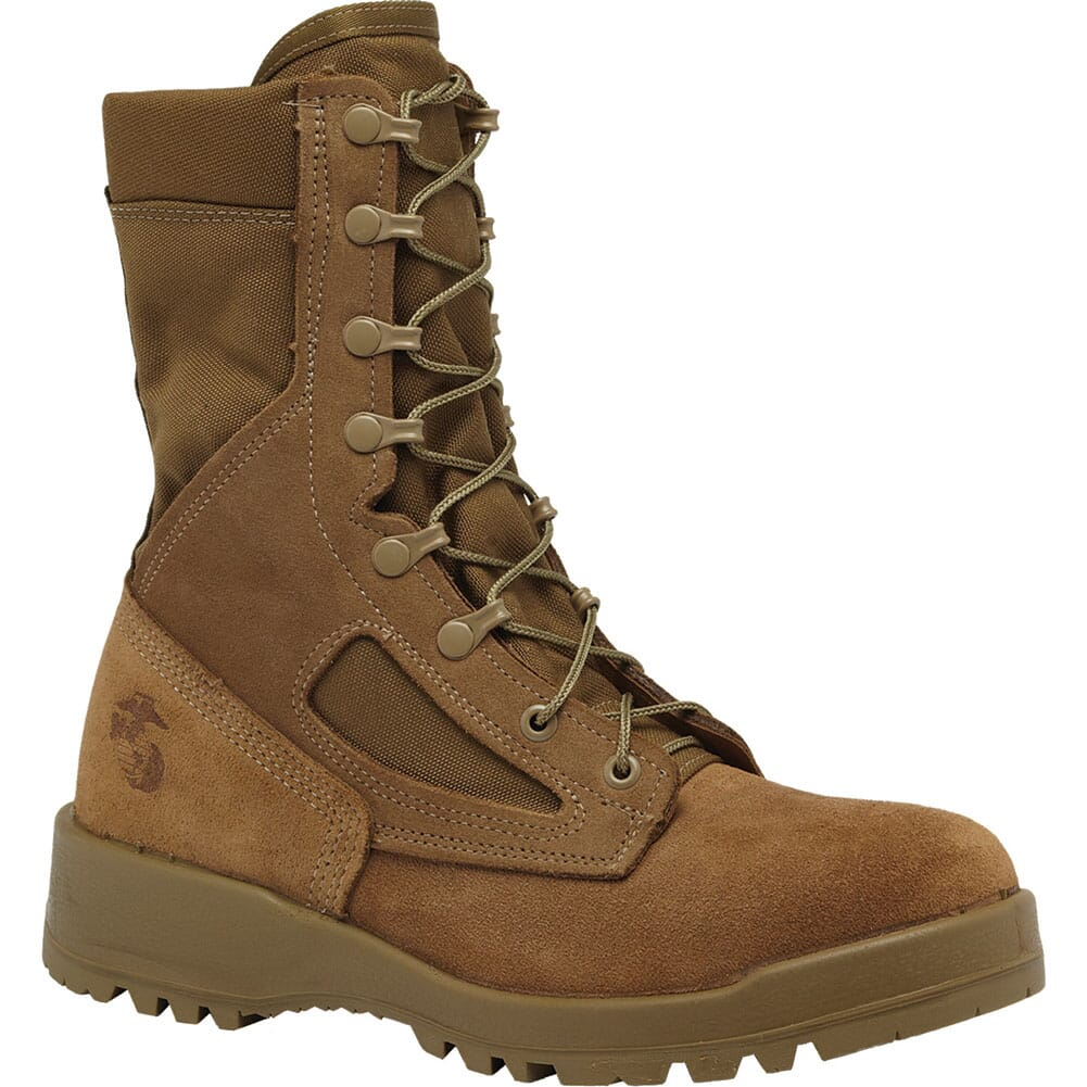 Image for Belleville Men's USMC Hot Weather Combat Boots - Tan from elliottsboots