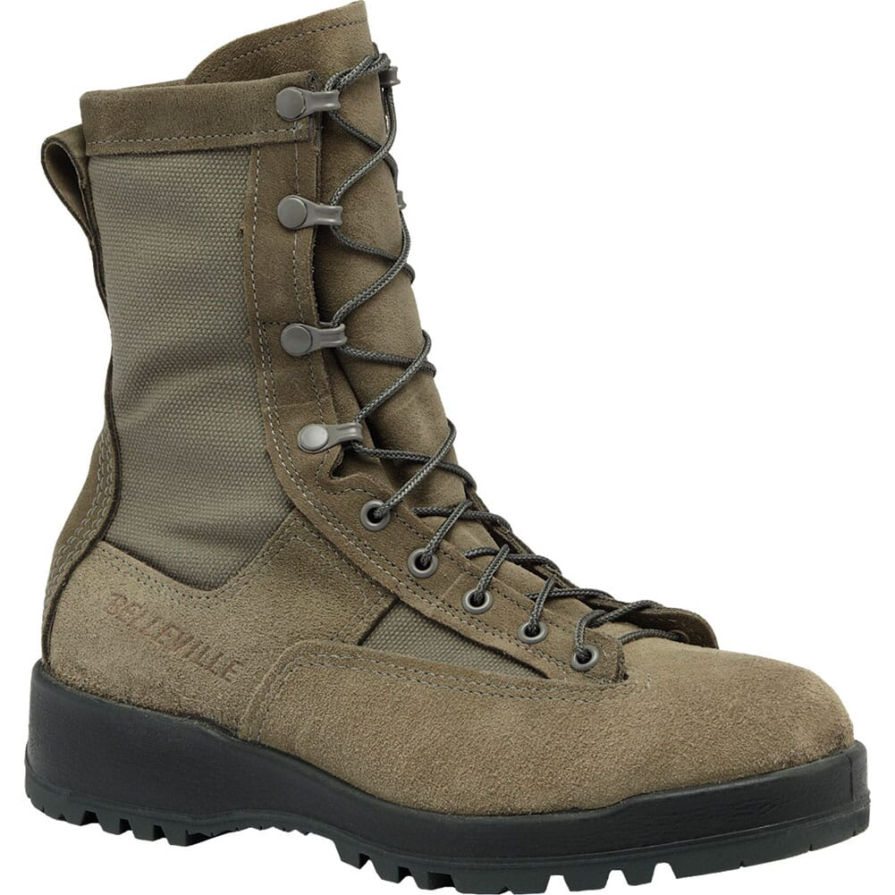 Image for Belleville Men's Waterproof Flight Boots - Sage Green from elliottsboots
