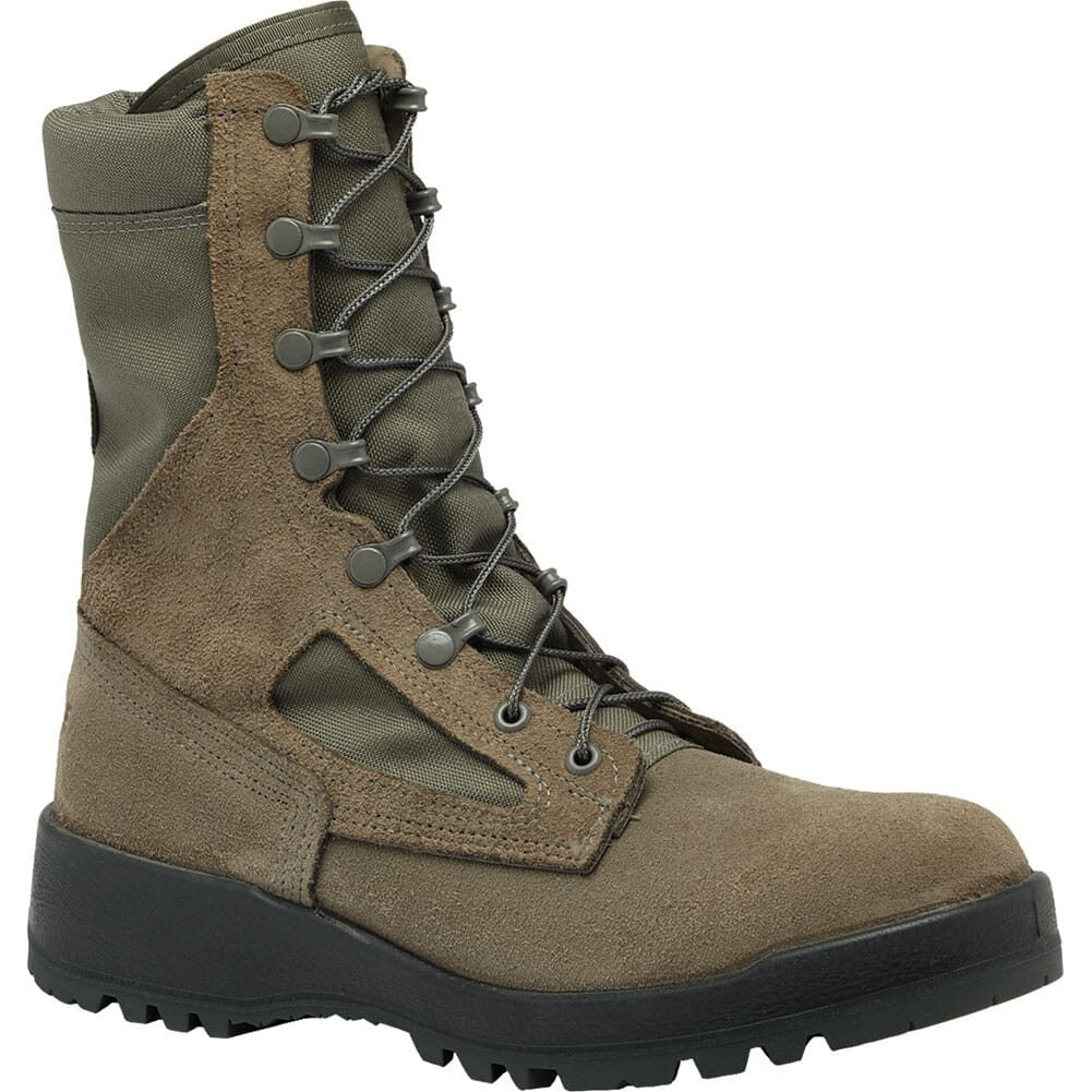 Image for Belleville Women's Combat Safety Boots - Sage Green from elliottsboots