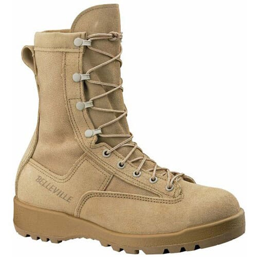 Image for Belleville Women's Combat/Flight Boots - Tan from elliottsboots