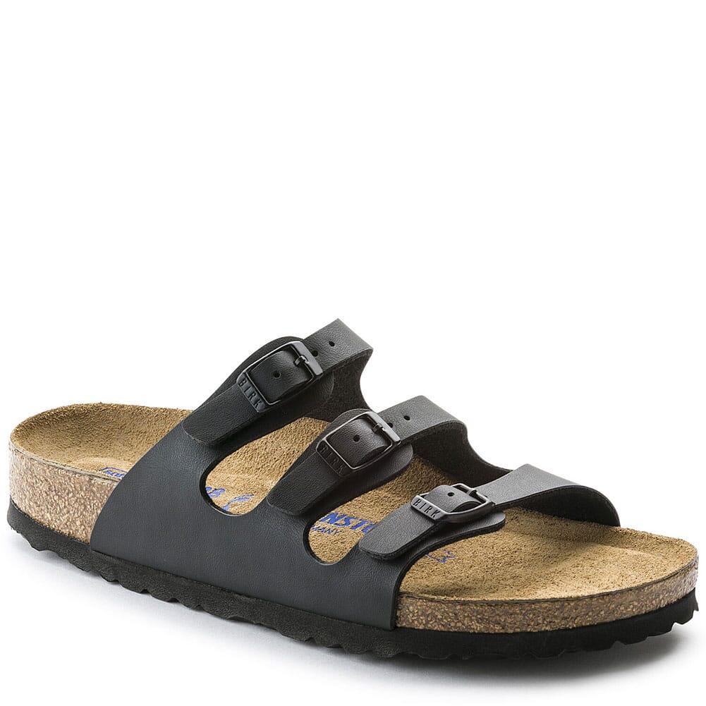 Image for Birkenstock Women's Florida Soft Footbed Sandals - Black from bootbay