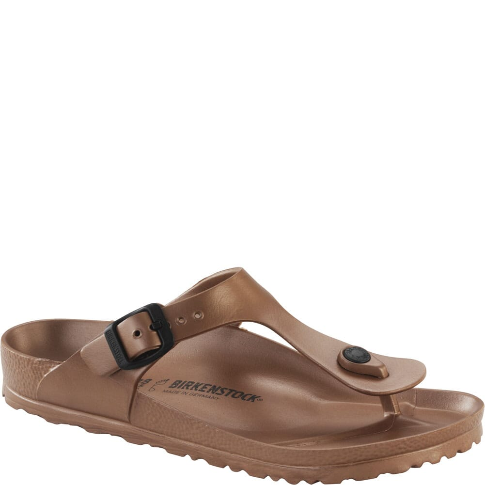 Image for Birkenstock Women's Gizeh EVA Sandals - Copper from bootbay